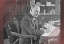 Helmuth Plessner en su oficina en Groningen, 1939. Bajo licencia bajo la licencia CC BY-SA 3.0
