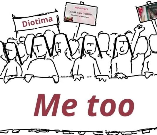 «¿Qué diría Diotima de las circunstancias actuales? El filósofo francés Jean-Claude Milner escribió sobre el «Me too». Diotima le preguntaría qué ha pasado hoy con el amor», escribe Anna Pagès. Imagen hecha a partir de una ilustración de Augusto Ordonez en Pixabay.