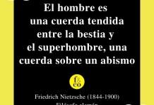 Frase filosófica Nietzsche