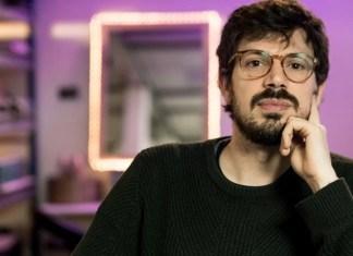 Lucas Bucci es profesor de Pensamiento Científico. Foto: Martín Gamaler.