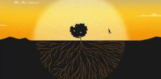 Simone Weil conectada al sol, trascendiendo a través de su vertiente mística, tejiendo nuevas raíces, avanzando libre y sin ataduras por su red. Las raíces de las que habla Weil son mucho más sólidas que una tela que se rasga con facilidad y que tirando de un hilo puedes desajustar todo... © Ana Yael