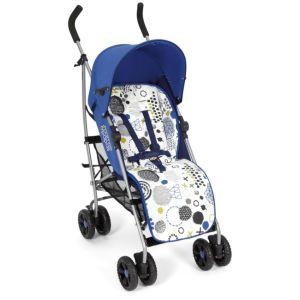 wózek spacerowy mamas&papas swirl niebieski