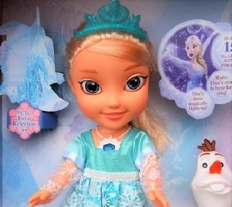 Lalki z krainy lodu Frozen Promocja