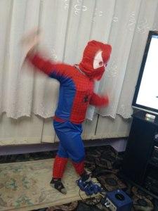 kostium spidermana