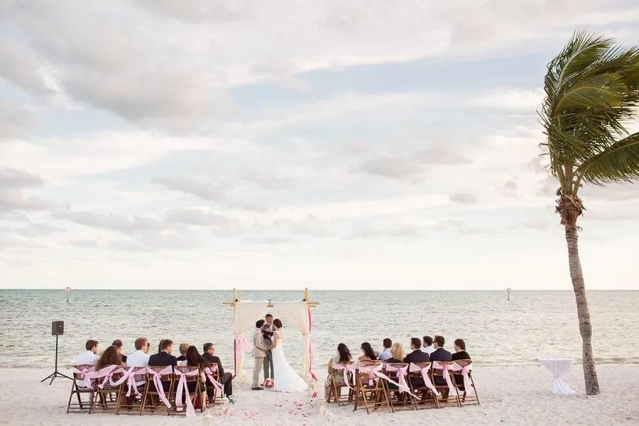 beach ceremony on smathers beach in key west florida