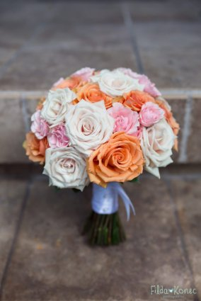 bridal bouquet from love in bloom key west
