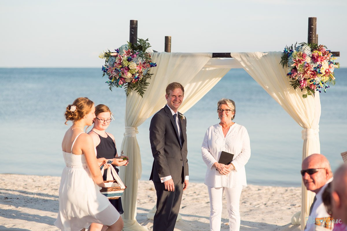 Helena Tim Married On Key West Beach Florida Keys Wedding