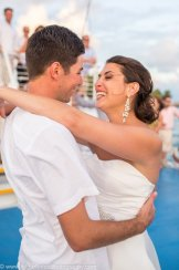 first dance on the boat