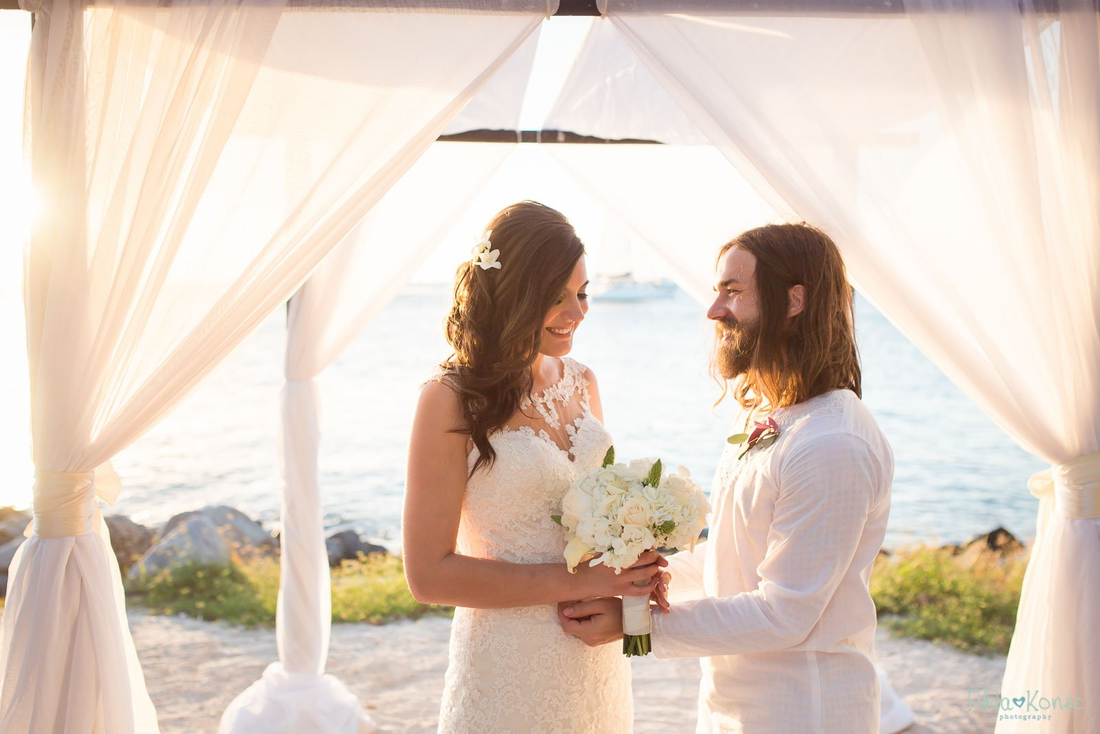 getting married at fort zachary beach in key west florida