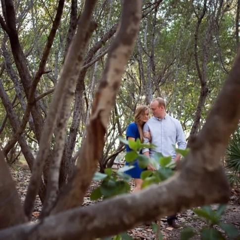 photo of engaged couple