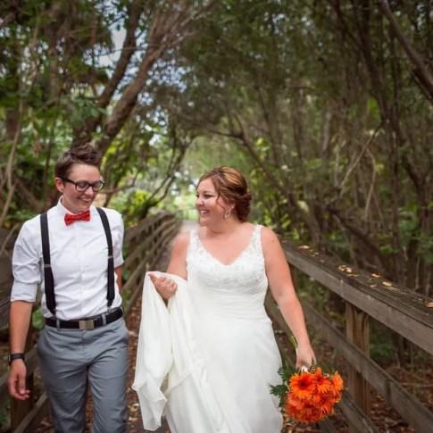 same sex couple wedding photograph