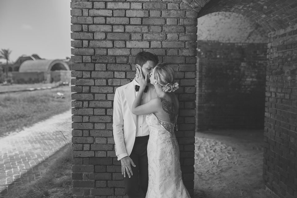 wedding at fort jefferson south florida photographer