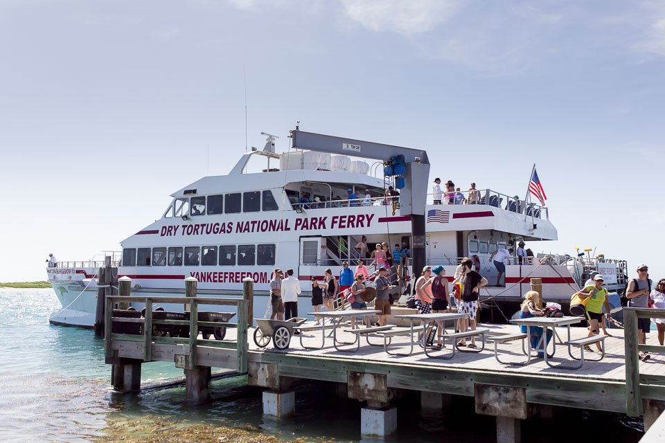 dry tortugas ferry photo