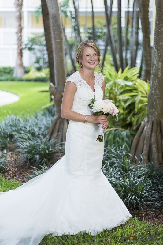 bride at sheraton suites in key west