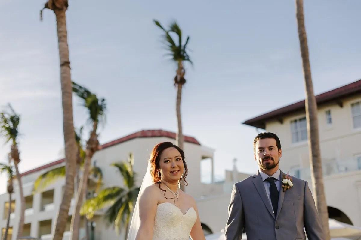 casa marina wedding couple key west wedding