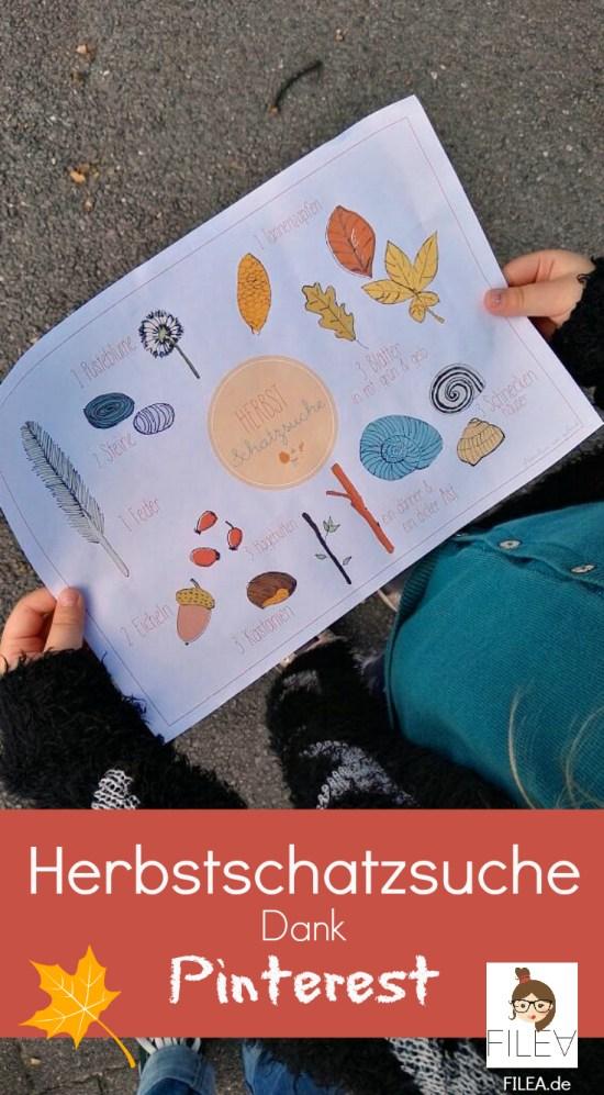 Herbst, Herbstschatzsuche, Aktivitäten, Kinder