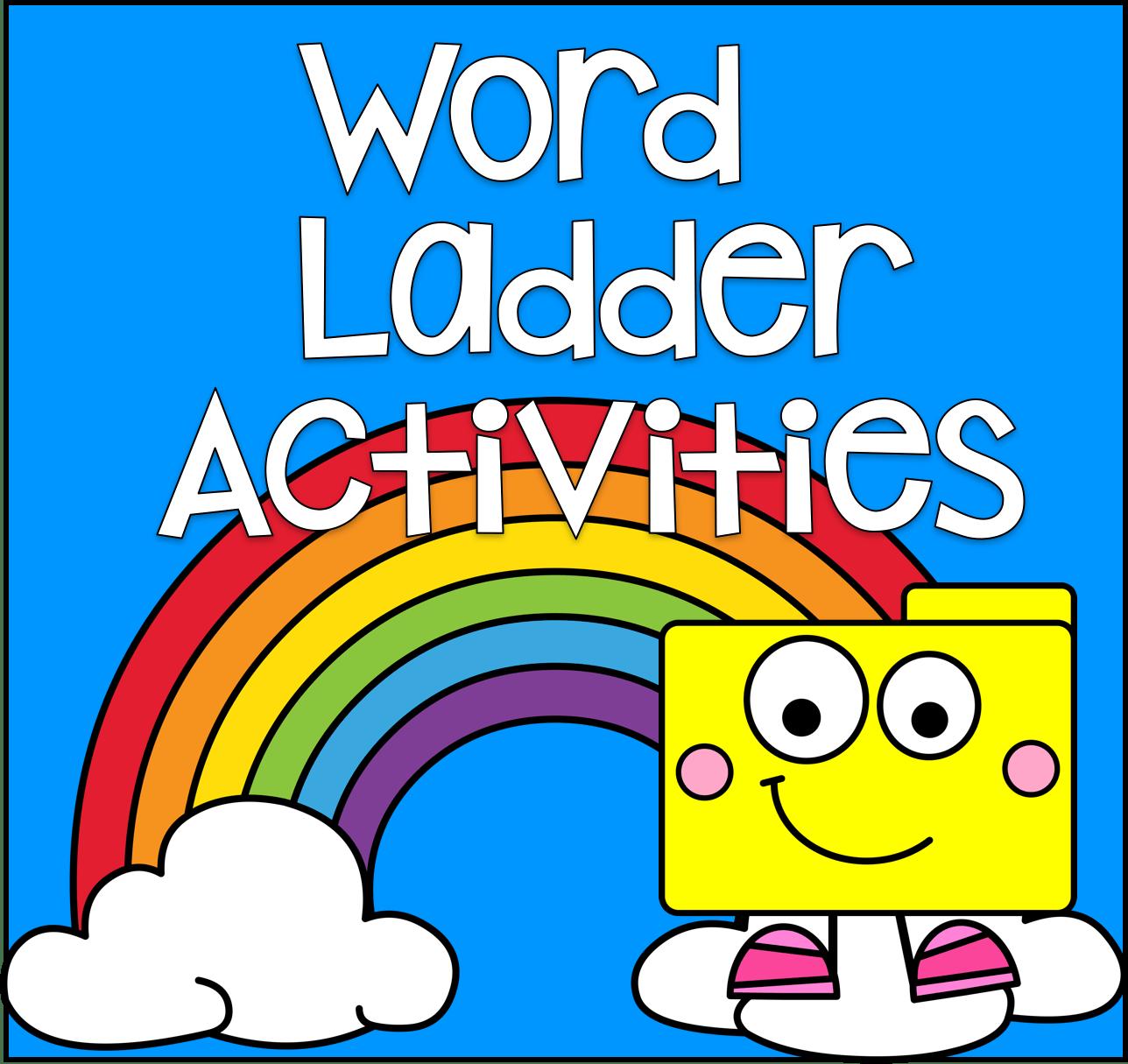 Word Ladder Activities File Folder Games At File Folder Heaven
