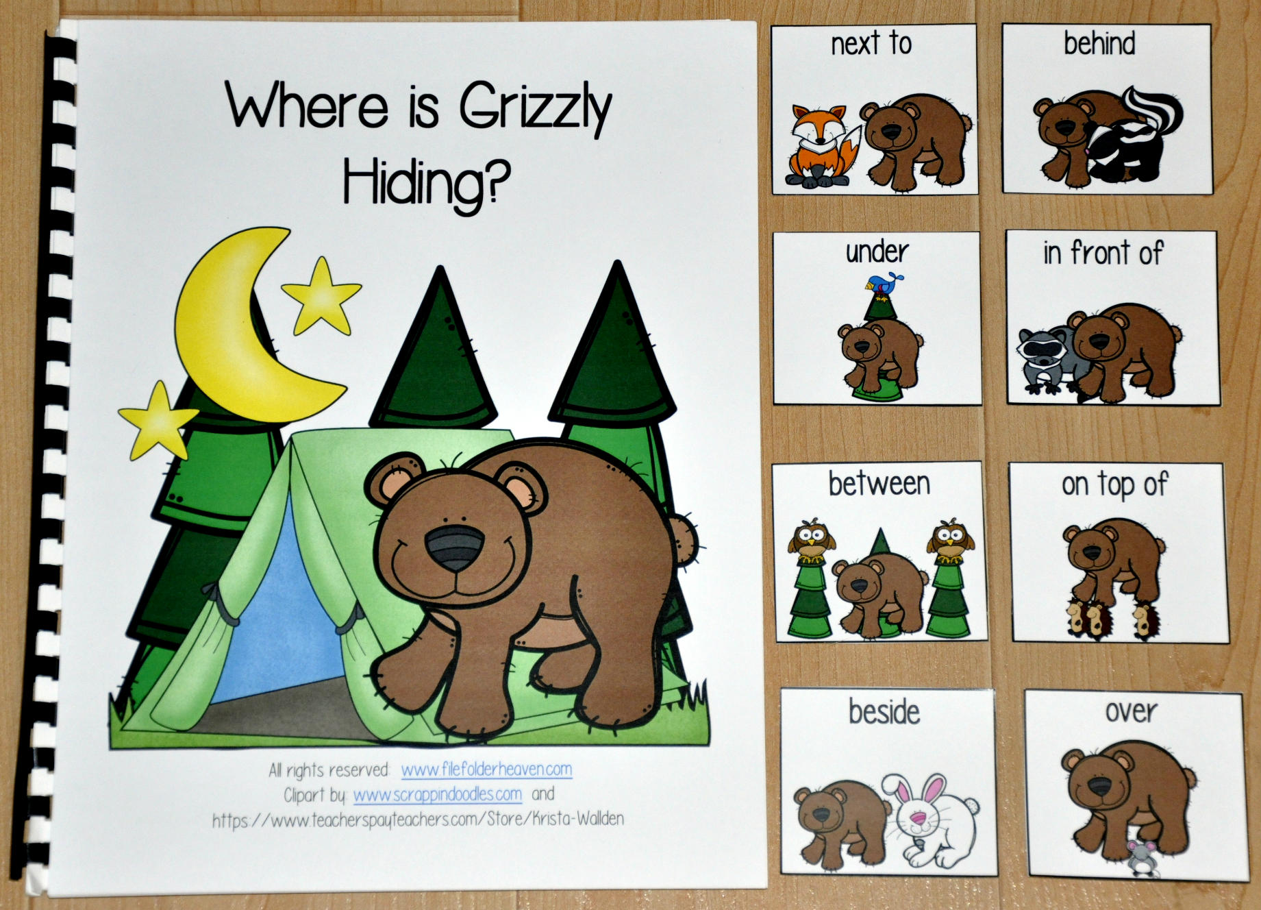 Where Is Grizzly Hiding Adapted Book