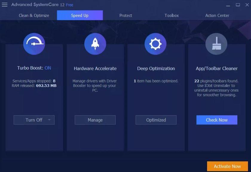 IObit Advanced SystemCare Free Latest Version