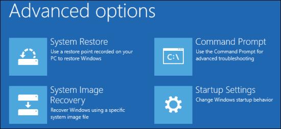 system restore to avoid blue screen error