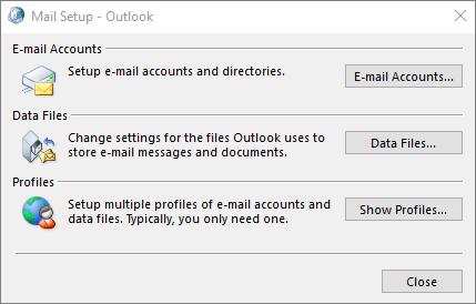 outlook auto account setup