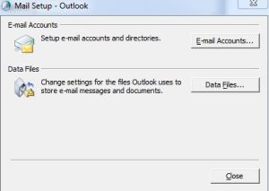 pst 0x80040116 error fix up
