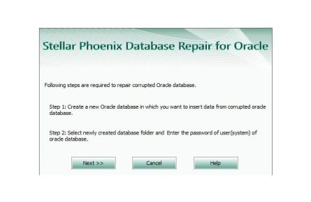 create a new database files