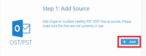 add pst to migrate to office 365