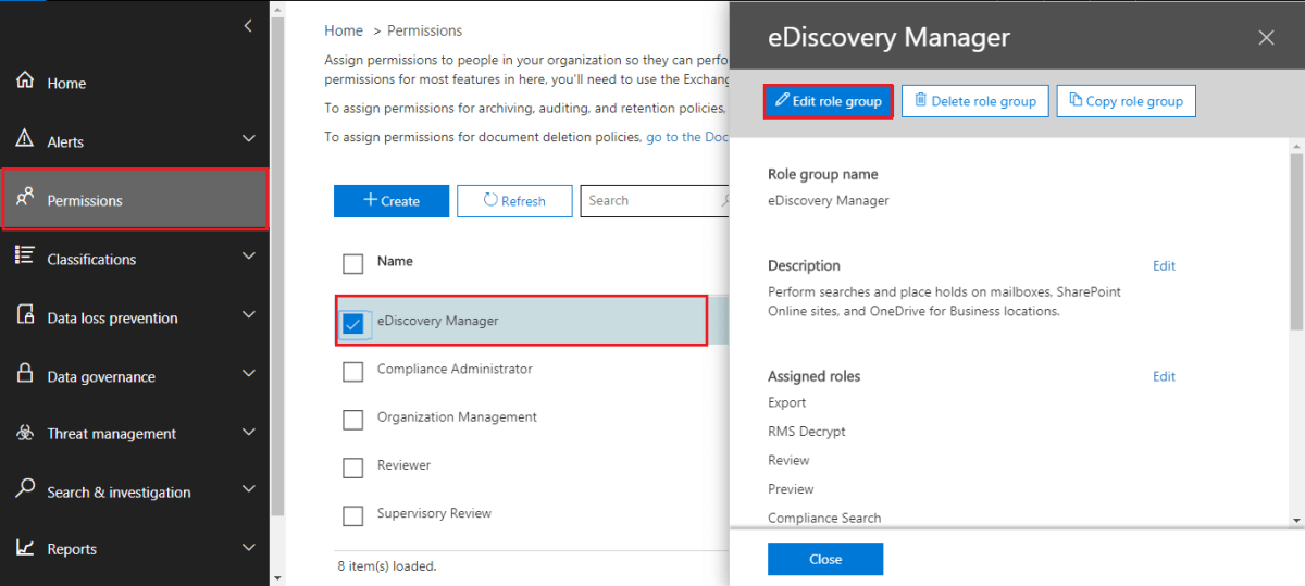 ediscovery tool office 365 to pst