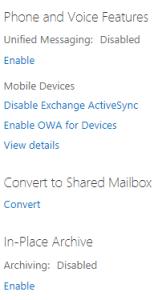 convert to shared mailbox