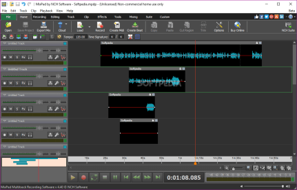 mixpad multitrack recording software key