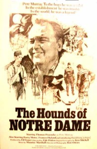 """Poster for the film """"The Hounds of Notre Dame"""""""