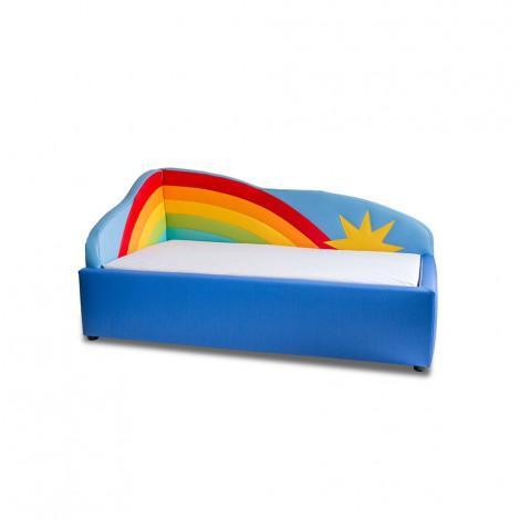 Kinderbett Regenbogen