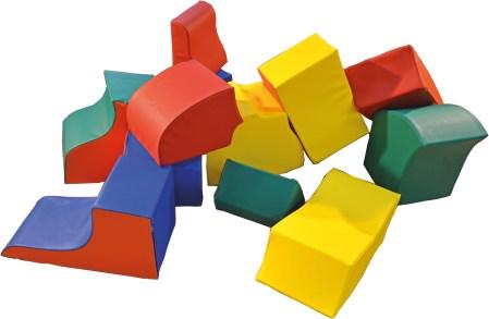"Bausteinsatz ""Puzzle"" 12-teilig"
