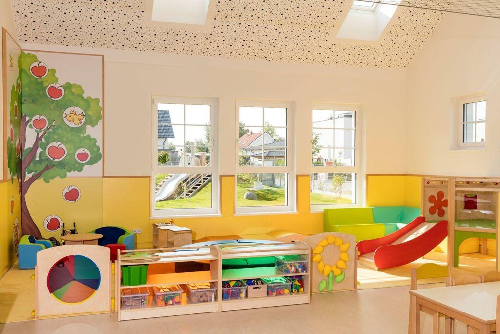 Kindergärten der universelle Spielraum