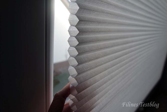 Sichtschutz und/oder Gardinen Ersatz von Duette mit einfacher Montage