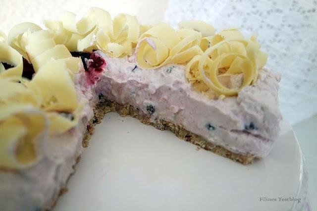 Torte mit Knusperboden ohne backen