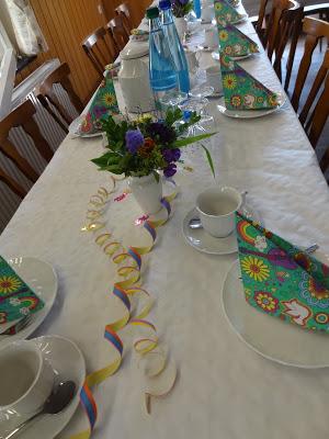 Filines Testblog, Party, Partydeko, 60s