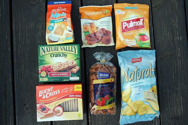 Vorräte auffüllen mit Produkten aus der Brandnoozbox