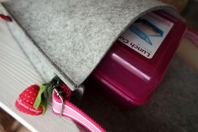 Filines Testblog, Produktvorstellung, Filz, Kindergartentasche, personalisiert