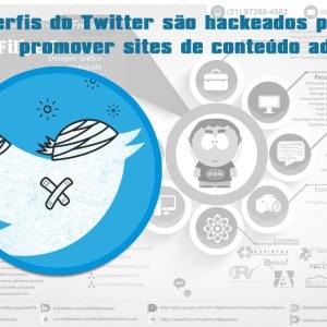 Perfis do Twitter são hackeados para promover sites de conteúdo adulto