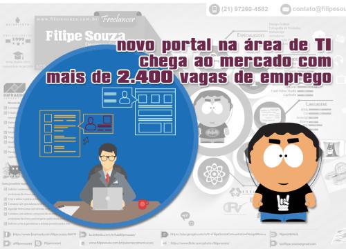 Novo portal na área de TI chega ao mercado com mais de 2.400 vagas de emprego