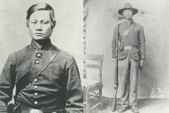 Felix Balderry, a Filipino in the American Civil War