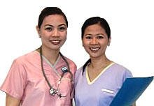 Filipino Professional Nurses and Doctors