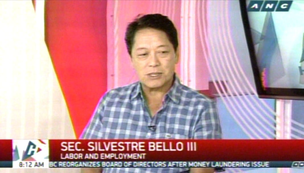 Bello vows to put up more one-stop service centers for OFWs nationwide