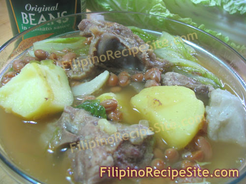 Filipino Nilagang Baboy