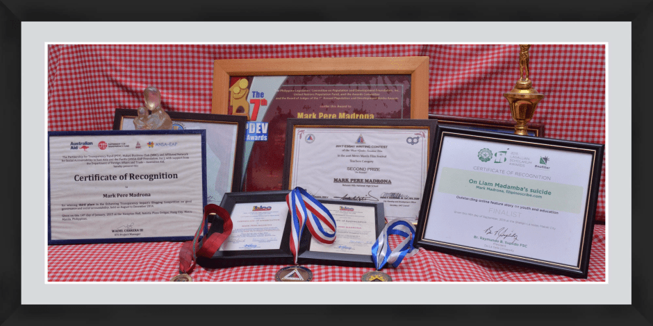 The Filipino Scribe awards and recognitions