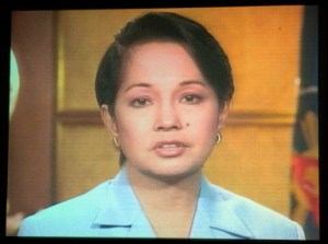 "Photo taken during Arroyo's infamous ""I Am Sorry"" speech - June 27, 2005"