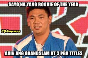 ian sangalang rookie of the year