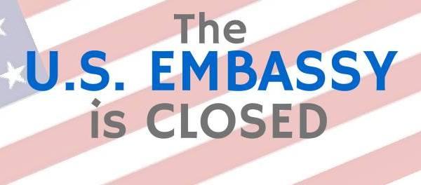 US Embassy in Manila closed on September 1 2014